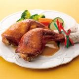 骨付き鶏もも肉のさっぱり照り焼き