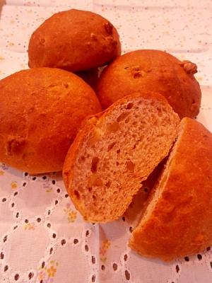 香ばしい☆ライ麦くるみパン☆ホームベーカリー生地
