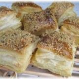 冷凍パイシートで簡単バジル風味のチーズパイ