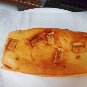 水切りヨーグルトで焼きチョコパウンドチーズケーキ♪