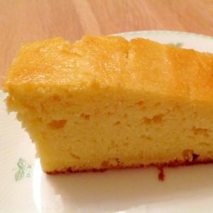 カッテージチーズとレモンのふんわりケーキ