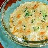 カボチャとコーンのチーズグラタン