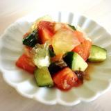 小夏と夏野菜のサラダ