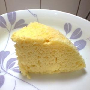 【低糖質】チーズケーキ風味♪ホエー&おから蒸しパン