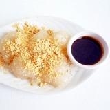 もち麦と片栗粉のわらび餅