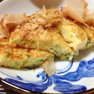 長芋とオクラのふわふわ焼き