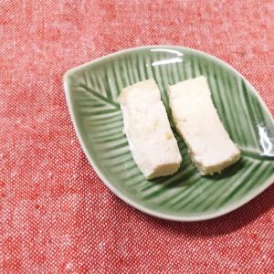 【離乳食後期】トースターで木綿豆腐の粉チーズ焼き