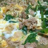 ☆旬の野菜で作る!! 豚肉のすき焼き風卵とじ☆