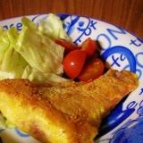 *赤魚の昆布茶チーズ焼き*