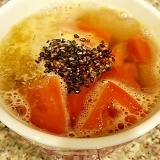 トマトと昆布のミニチキンラーメン