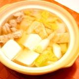 ひとり鍋✿醤油味のミニちゃんこ鍋