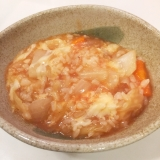残った野菜スープをリメイク!簡単リゾット!