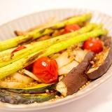 焼野菜のプチプチマスタードソース
