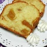ホットケーキミックスで干し柿パウンドケーキ