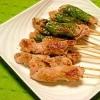 減塩☆豚肉の串焼き