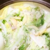白菜豚バラ生姜風味鍋