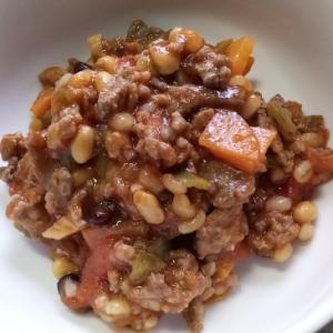 合い挽き肉と野菜のトマト煮