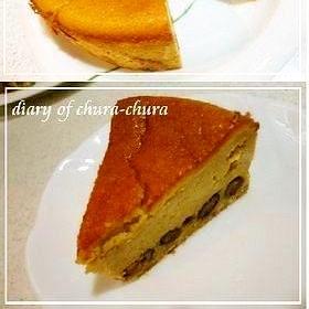 和風ベイクドチーズケーキ♪