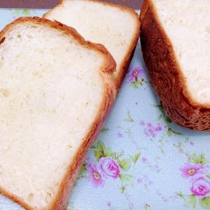 ホームベーカリーで☆ミルク食パン