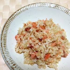 塩鮭と梅の混ぜご飯✿