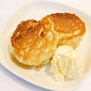 バナナヨーグルトパンケーキ【卵不使用】