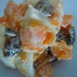 キュウリのキューちゃんとゆで卵サラダ