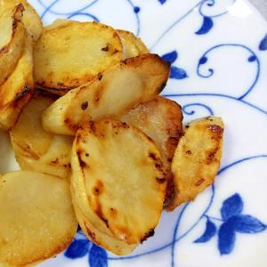 菊芋のニンニクバター炒め