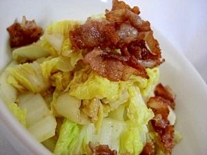 カリカリ豚とたっぷり白菜のサラダ★山盛りいける!