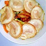 栄養満点☆ガッツリ焼き豚丼
