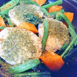つくね&野菜の彩りおつまみ