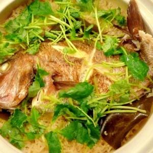 おめで鯛✿簡単!土鍋で絶品鯛めし♪