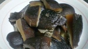 干し椎茸の甘辛煮