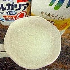 ホット♡ホエー入ヨーグルトミルク酒
