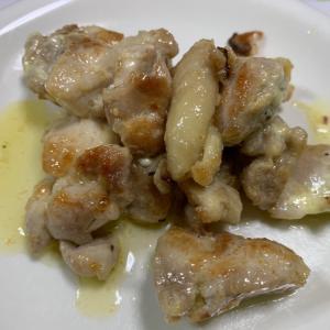 鶏もも肉のガーリックマヨ焼き