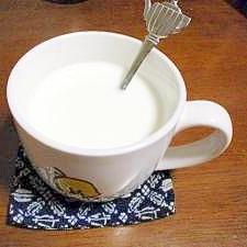 おやすみ前に★ホットミルク・オリゴ