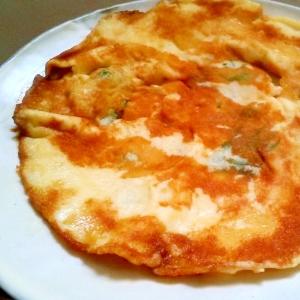 モチモチ!大葉とチーズの薄焼き