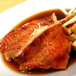 赤魚と焼き葱の煮付け☆