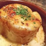 【洋風】大根ステーキ チーズかけ