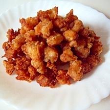 カルシウム・コラーゲンの鶏なんこつ唐揚げ