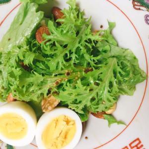 ワサビ菜のサラダ