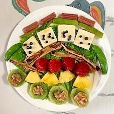 ゴーダチーズのおつまみサラダ