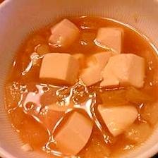 採れたて大根の味噌汁!!