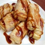 栄養価UP!ヨーグルト漬け高野豆腐の豚肉巻き焼き♪