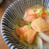 鮭の白菜煮