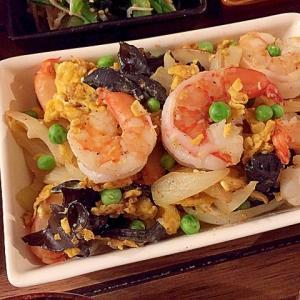 簡単4ステップ☆海老の卵炒め お弁当に中華おかず