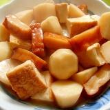 里芋と厚揚げさつま揚げの煮物
