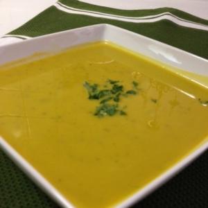 冷たいかぼちゃのスープ!forわんこ
