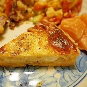 洋ナシとチーズのキッシュ