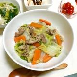 めんつゆで楽ちん!豚肉と白菜人参だけ中華丼♡
