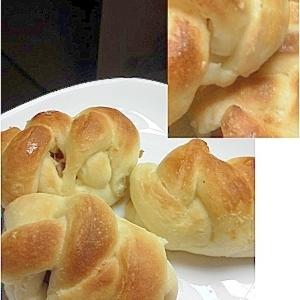 あみあみウインナーパン(HB生地)